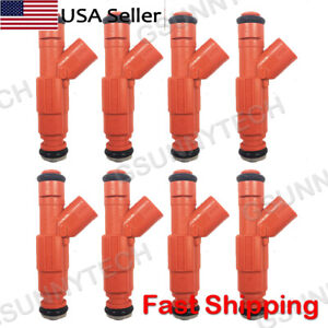 8pcs Fuel Injectors fit for 03-04 Ford Crown Victoria / Lincoln Town Car 4.6L V8