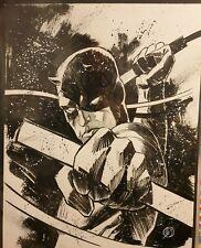 Matteo Scalera Daredevil Original Art 11x14 - Marvel Comics