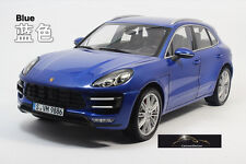 "1:18 Minichamps  Porsche Macan Turbo saphirblaumetallic Lmtd.Edition ""Dealer  """