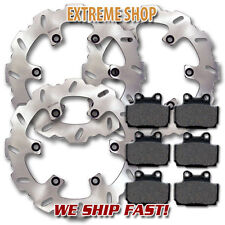 Yamaha Front + Rear Race Proven Brake Disc Rotor + Pads RD 350 (1985-1995) NEW