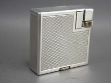 1930 Petrol lighter Dunhill savory lady small silver plated Squareboy