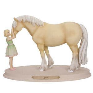 Horse Whispers KISSES Figurine - No longer crafted