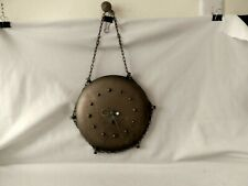 { Vintage made GERMANY metal round hanging wall clock