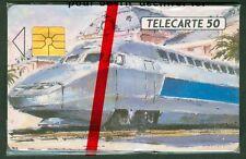 TELECARTE 50 UNITES  EN   381  A C T N  TGV  NICE  NSB