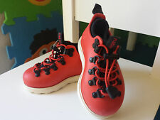 Native Boy Toddler Shoes  Red White Size 5 waterproof / impact absorbent