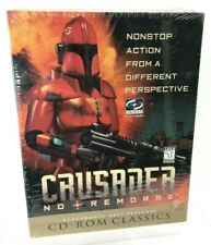 CRUSADER: No Remorse (PC, 1997) ~ Big Box CD-Rom (Origin/EA)~ NEW Factory Sealed