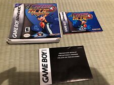 Mega Man Battle Network 3: Blue Version (Game Boy Advance,) box & booklet