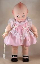"Vintage Cameo Kewpie Girl Doll By Jesco Rose O'Neill 15"" Vinyl w/Box 1983"