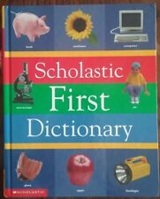 Scholastic First Dictionary by Judith S. Levey, hardcover 1998, reference