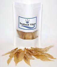 1 LB Dried Wild Caught Yellow Croaker Fish Maw,Air Bladder,中黃魚肚,黃魚鰾 花胶