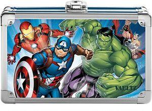 Marvel Avengers Vaultz Locking Supply Box Pencil Box With 2 Keys New w/ Tags