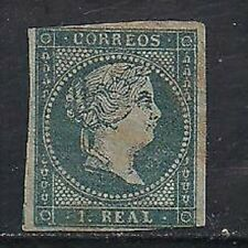 Spain Stamp- Scott # 38/A9-1r-Mint/LH-1855-IMP