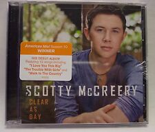 SCOTTY McCREERY Clear as Day CD BRAND NEW IN SHRINK-WRAP
