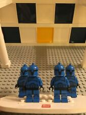 Lego Star Wars Blue Clone Senate Commando army lot squad Flesh Head 75088 C9
