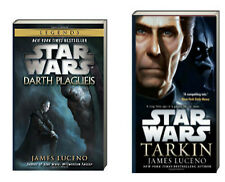 STAR WARS DARTH PLAGUEIS & TARKIN (pb) by James Luceno 2 Book Set NEW