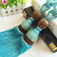 Curtain Belt Ball Tieback with Tassel Home Decoration Curtain Accessory Pendant