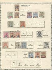 Seychelles: Early rest collection, mint and used, some good values. SY04