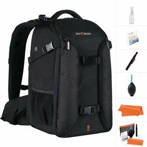 K&F Concept Waterproof Large DSLR SLR Camera Backapck Bag Case With Rain Cover
