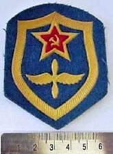 Original Soviet Russian Airforce Air Force Uniform Military Sleeve Patch Badge