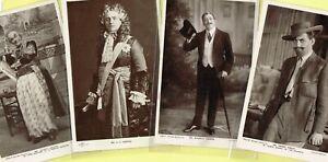 ☆ EDWARDIAN THEATRE / MUSIC HALL ACTOR ☆ 1900s Postcards LIST 53