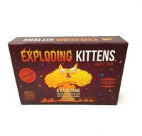Exploding Kittens Card Game - Party Pack for Up to 10 Players - Open Box