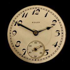 Watch Movement - Running 18S Elgin 17j Pocket