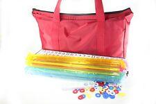 American Mahjong Set in Waterproof Bag 4 Color Pushers / Racks Western Mahjongg