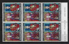 LUXEMBOURG SG858, 1970 DIOCESE CENTENARY MNH BLOCK OF 6