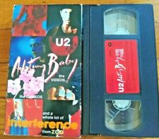 U2 - Achtung, Baby! - The Videos Vhs 1992_More U2 Vhs_Check My Other Items!