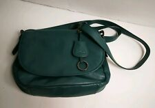 Kipling Womens Ladies Genuine Leather Handbag Crossbody Shoulder Blue Tote Bag W