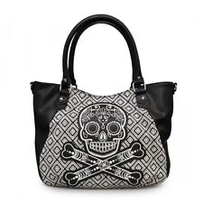 Loungefly Handtasche - Tweed Skull Shopper