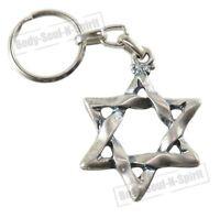 Llavero Estrella de David amuleto de la suerte recuerdo de Israel idea de regalo