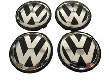 VOLKSWAGEN ALLOY WHEEL CENTRE CAPS X4 TOURAN, TOUARE, TIGUAN 65MM