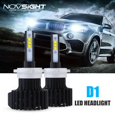NOVSIGHT D1S D2S D3S D4S /R 60W 12000LM LED Headlight Hi/Lo Beam Kit Bulbs 6500K