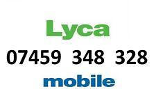 LYCA MOBILE GOLD NUMBER VIP BUSINESS EASY DIAMOND PLATINUM PHONE SIM CARD