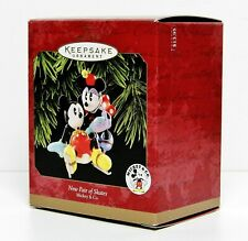 New Pair of Skates Hallmark Keepsake Ornament 1997 with Mickey & Co. Nib