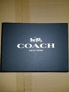 Coach EMPTY Gift Storage Box with Magetic Closure ~ Brand New
