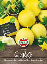 "Sperli - Pepino "" Limón "" con olor a fruta + jugoso Semillas de 80854"