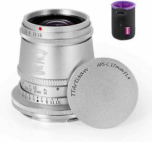TTartisan 17mm F1.4 Fisheye Fixed Lens For Nikon Z Mount Z6 Z6II Z7 Z7II Zfc Z50