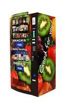 Hy2100-9 HealthyYou Vending Machine, Brand New High Tech Snack/Drink Combo