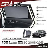 SP MAGNETIC CAR WINDOW SUN SHADE BLIND MESH REAR DOOR FOR LEXUS RX350 2008-2015