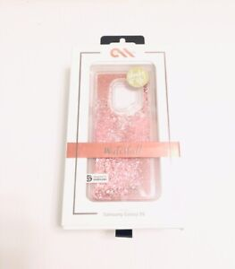 Case Mate Waterfall Dual Layer Protective Case For Samsung Galaxy S9 in ROSEGOLD