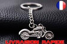Porte-clés Métal Moto Chaîne Anneau Titulaire Casual Alliage Mode Harley