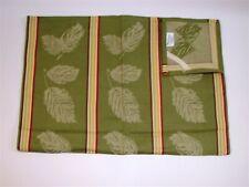 Park Designs Kitchen Dish Towel 100% Cotton ~ Green Leaf Multi ~ 20 x 28 **NEW**