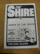 08/09/1984 East Stirlingshire V REGINA DEL SUD (piegato). grazie per la visualizzazione