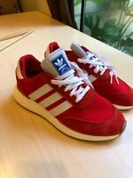 Adidas I-5923 Originals Iniki Runner Boost Red White Men's Size 8  BD7811