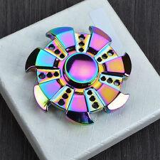 Arco iris Fidget Spinner Mano Dedo 3D EDC Focus Antiestrés Juguete para ADHS