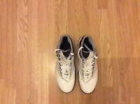 Mens Adidas Pilrahna T-MAC 3.0  Basketball Trainers White-Blue Size 13.5