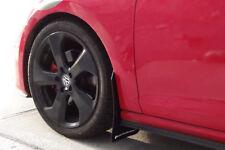 Rally Armor Mud Flaps Black w/RED LOGO 2015+ MKVII VW Golf/GTI/TSI/AT/SW