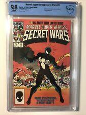 Marvel Super Heroes Secret Wars #8 CBCS 9.8 Symbiote Venom Black Suit Not CGC